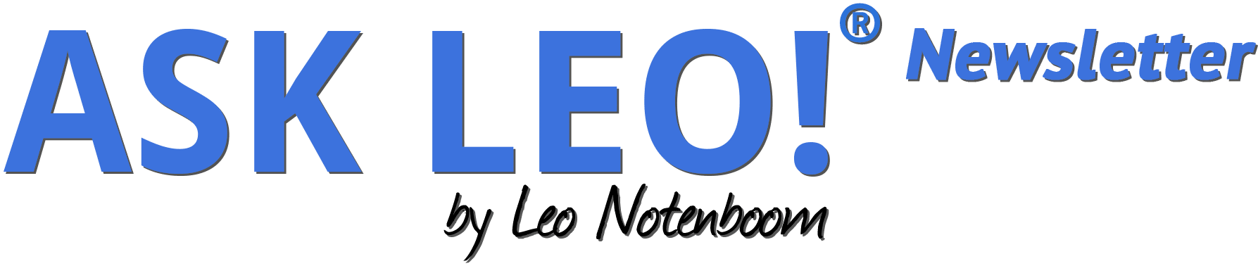 The Ask Leo! Newsletter
